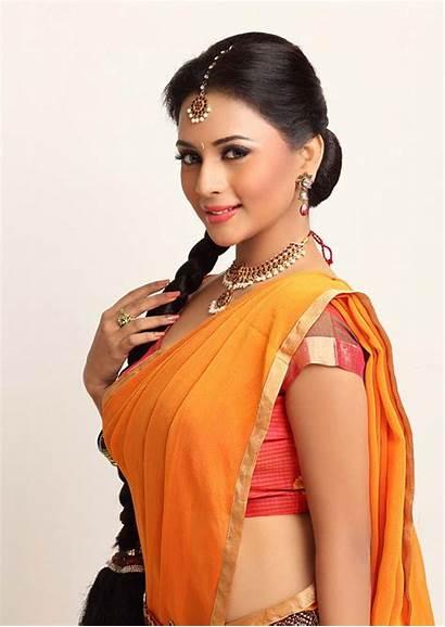 Saree Suza Half South Kumar Actress India