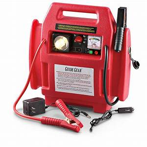 Guide Gear U00ae Jumpstarter With Air Compressor