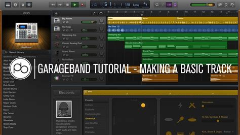 Garage Band by Garageband Tutorial How To Make A Basic Track