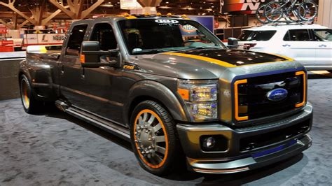 2010 Airhead Kustoms Ford F 350 Super Duty at SEMA   YouTube