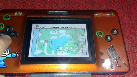 Nintendo DS Lite Mod to Gameboy Advance Custom FINAL