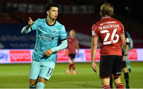 Liverpool beat Lincoln City in Carabao Cup to set up two ...