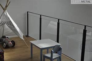 Garde Corps En Verre : garde corps int rieur en acier ou inox pour escalier ~ Melissatoandfro.com Idées de Décoration