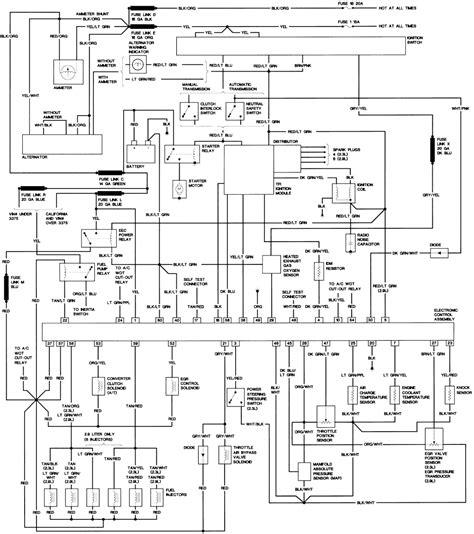 1985 Ford Ranger Wiring Diagram by 1985 Ford Ranger Wiring Diagram Electrical Website Kanri