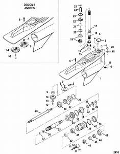 Mercruiser Bravo X Three Gear Housing  Bravo Three  Parts