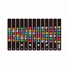 Rosenice Guitar Fretboard Note Decals Fingerboard Sticker