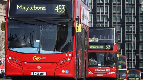 London Mayoral Election Battle Of The Buses Cnn