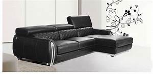 aliexpresscom buy 2015 modern furniture genuine leather With leather sectional sofa with adjustable headrest