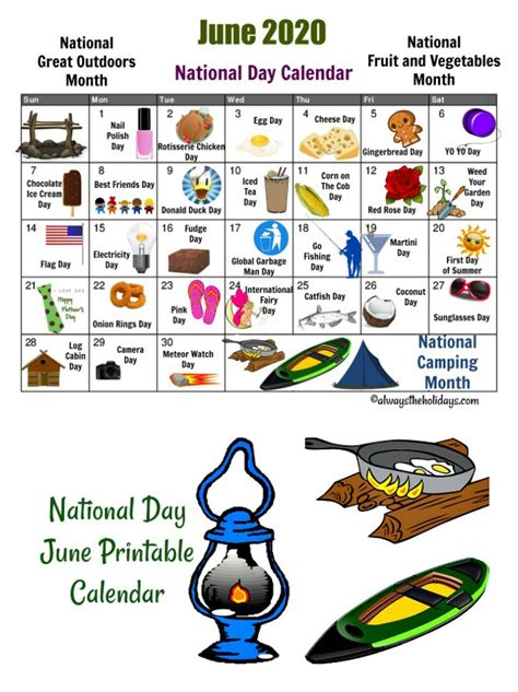 May Holiday Calendar