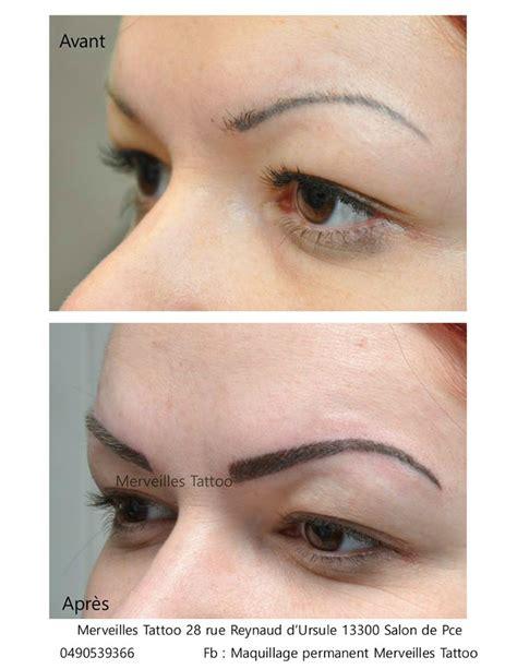 Rattrapage Maquillage Permanent De Sourcils Réalisé Par