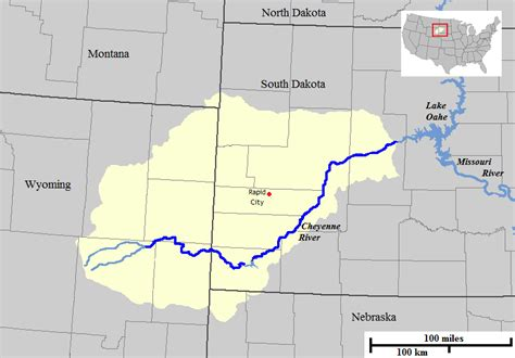 Cheyenne River - Wikipedia