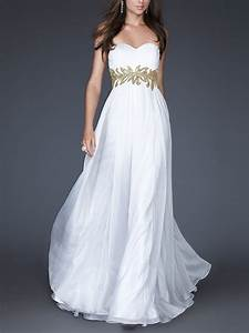 robe longue de soiree blanche pas cher la mode des robes With robe de soirée blanche pas cher