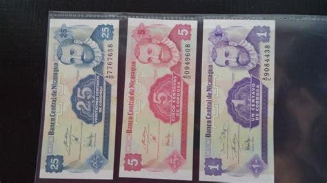 Nikaragva LOT 3 novcanice