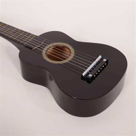"New 21"" Black Kid Guitar Cheap Small 6 String Guitar"