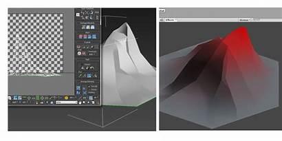 Textureless 3d Unity Shader Simple Gradient Uv