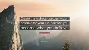 In Life : oprah winfrey quote create the highest grandest vision ~ Nature-et-papiers.com Idées de Décoration