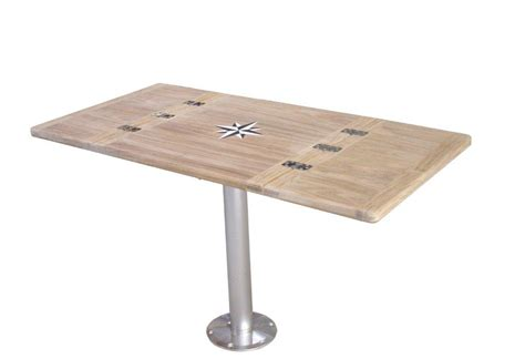 Boat Table Top by Pin Teak Table Square Top On