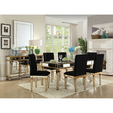 imperial mirrored dining set dining set homesdirect365