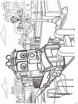 Coloring Chuggington Pages Printable Cartoon Cartoons sketch template