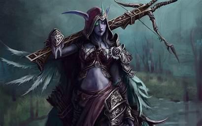 Warcraft Sylvanas Windrunner 4k Ultra Wallpapers Background