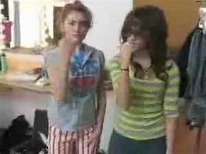 Demi Lovato & Alyson Stoner - Nick Jonas dance - YouTube