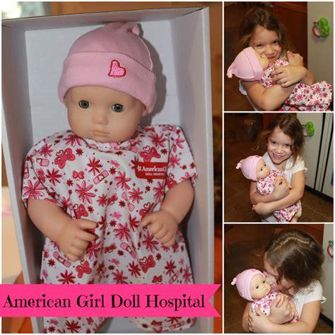 american girl doll hospital saved  day  mommyhood