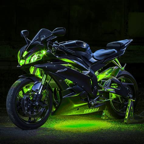 underglow lights for motorcycle xkglow 174 xk034001 g green single color motorcycle