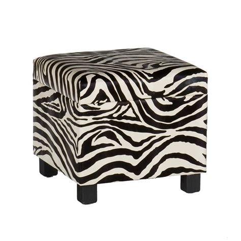 large animal print ottoman safari storage ottoman in zebra dorm room love