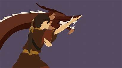 Zuko Minimalist Dragon Avatar Dance Wallpapers Aang