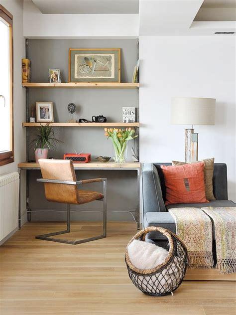 espace bureau dans salon salon bureau dans renfoncement salon appart