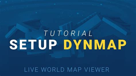 live world how to setup dynmap live world map viewer