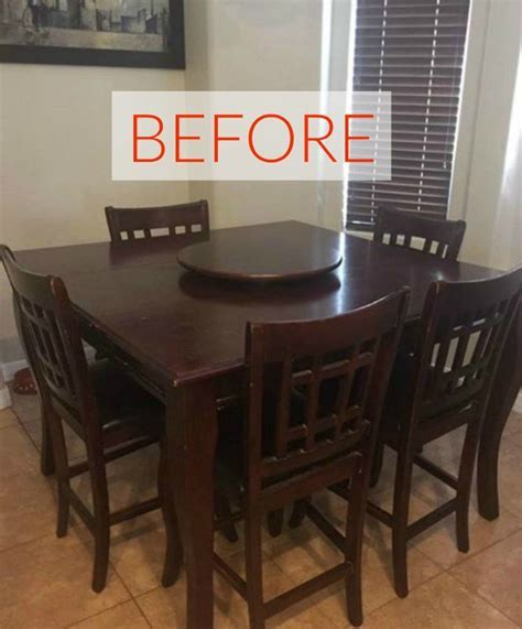 9 Dining Room Table Makeovers We Can't Stop Looking At