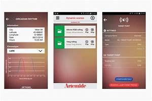 Lichtsteuerung Per App : lichtsteuerung mit der artemide app highlight ~ Watch28wear.com Haus und Dekorationen