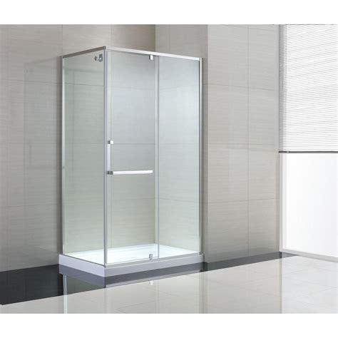 schon brooklyn      semi framed corner shower