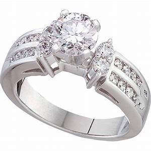 14k white gold 1 ctw juliette diamond engagement ring With jewelry exchange wedding rings