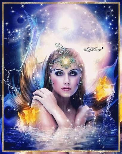 Mermaids Fantasy Mermaid Village Mystical Magical Diamond