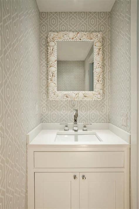 powder room mirror powder room powder room wallpaper design ideas