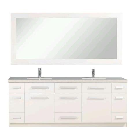 design element moscony 84 in w x 22 in d vanity