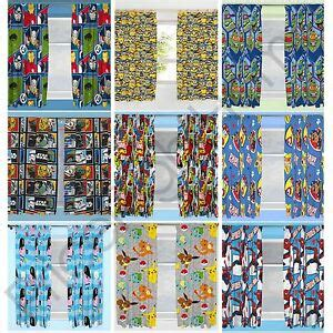 disney character boys curtains bedroom marvel paw patrol