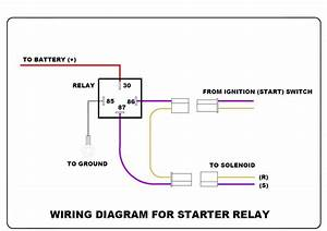 4 pin relay wiring diagram spotlights 5 diagrams wiring With wire diagram relay