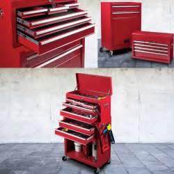 Caisse A Outils Sur Roulette : servante d 39 atelier rouge 8 tiroirs avec caisse outils ~ Dailycaller-alerts.com Idées de Décoration