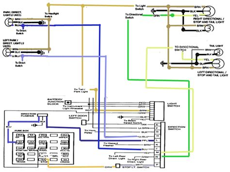 Gm Brake Switch Wiring Diagram by I A 97 Chevy One Ton The Brake Lights And Turn