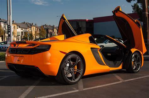 12c Color Mclaren Mp4 Supercar Spider Orange Wallpaper