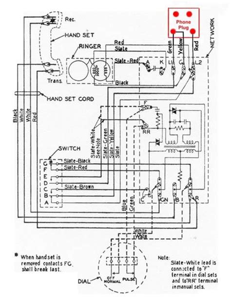 Antique Phone Wiring Diagram by Wiring A Touch Tone Pad To Any Antique Telephone Phone