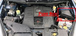 Fuse Box Diagram  U0026gt  Subaru B9 Tribeca  2006