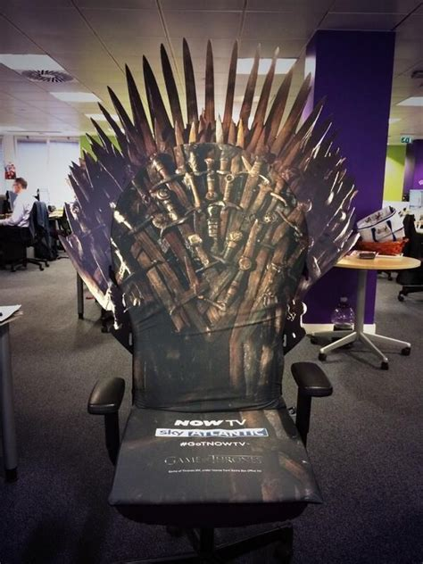 extremely rare game  thrones iron throne office chair