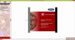 Workshop Manual Ford Motor Company Usa 2008