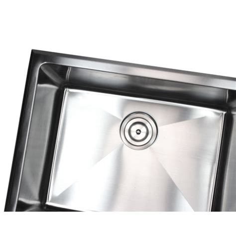 23 Inch Undermount / Drop In Stainless Steel Single Bowl