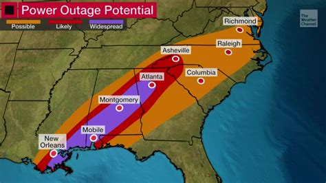Zeta to Bring Power Outage Threat - Videos from The ...