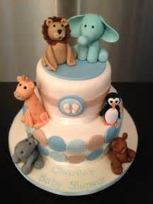 Pinterest Baby Boy Shower Cakes